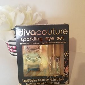 Diva Couture Sparkling Eye Set  new